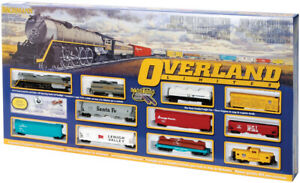 Bachmann 00614 HO Scale Overland Limited Train Set, Union Pacific, Smoke & Light