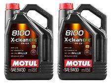 Motul aceite lubricante motor 8100 X-clean EFE C2/c3 5w30 5L