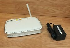 Netgear (WGR614v10) 4-Port 10/100 Wireless G Router Supports 802.11b/g/n LAN