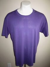 XL vtg RUSSELL ATHLETIC T SHIRT PURPLE HIPSTER soft thin RARE 50/50 made in USA