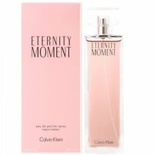 Calvin Klein Eternity Moment 100ml EDP Spray - NEW & BOXED - FREE P&P - UK