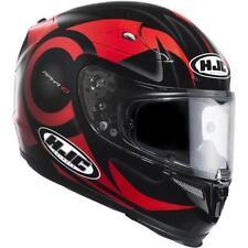 Cascos HJC color principal rojo talla M para conductores
