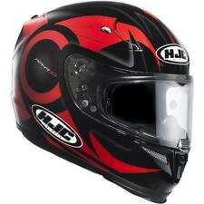 Cascos HJC color principal rojo talla L para conductores