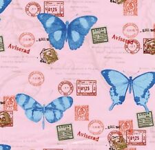 Klebefolie Schmetterling rosa selbstklebende Folie für Möbel Vintage 45x200cm