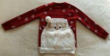 Boy's Santa Christmas Jumper 5-6 Years