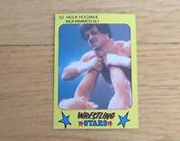 Hulk Hogan WWF WCW WWE HOFer 1986 Monty Gum Wrestling Card #52