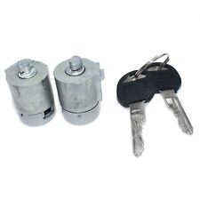 Front Door Lock Cylinder Kit Pair W/ Keys for C1500 K1500 Tahoe Yukon 12546858