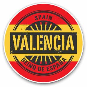 2 x Vinyl Stickers 25cm - Valencia Spain Reino De España Travel Cool Gift #6015