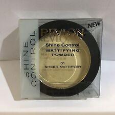 REVLON SHINE CONTROL MATTIFYING POWDER(01# Sheer Mattifyer Matifiant Translucide