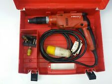 Hilti impact drill ST18 used with case