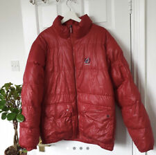 Kangol Red Puffer Coat Vintage Unisex Large