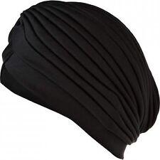 Black Turban Head Wrap Fashion hat Band Hat Cap /CHEMO  turbans