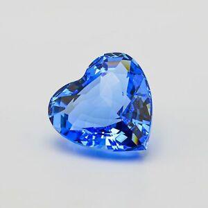 Swarovski Blue Heart - 1997 Renewal Gift - 210899