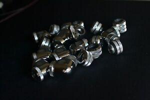 Bitspower Silver Shining Rigid Tube Fittings