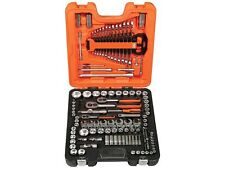 Bahco S138 1/4″, 3/8″ & 1/2″ Drive 138 Piece Socket & Spanner Set Tool Kit