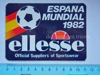 ADESIVO sticker vintage ELLESSE calcio football ESPANA MUNDIAL 1982 Italia  *