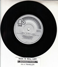 "SHOWADDYWADDY  Rock 'N' Roll Lady 7"" 45 rpm record NEW + jukebox title strip"