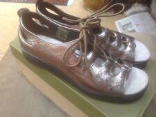 HOTTER TAHITI PEEP TOE SHOES👡.SIZE 5.5...GOLD LEATHER  ....EX CON Worn once