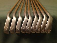 PING EYE 2 PLUS IRON SET ORANGE DOT 2-9 PW & SW missing 7 iron matched GRAPHITE