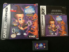 Jimmy Neutron: Attack Of The Twonkies (Nintendo Game Boy Advance)Complete In Box
