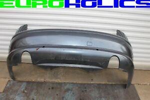 OEM Audi A8 04-09 REAR BUMPER COVER BLUE LZ7R w/Park Assist *FREIGHT SHIP*