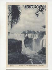 Brazil Parana Chutes de l'Iguassu Vintage Postcard US029