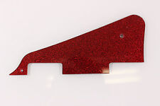 Red Glittler Sparkle Pickguard fits Gibson Les Paul