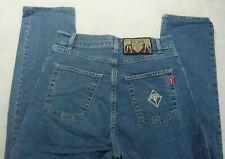 H.I.S Sunny Jeans Gr.36 NEU Damen Bootcut Hose Stretch Denim Blau Used HIS L32
