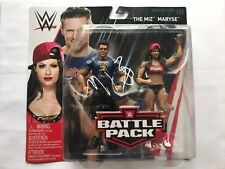 The Miz Signed Autographed WWE Battle Pack Action Figure Pack Series 51 + COA!