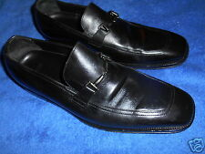 HUGO BOSS LOAFER BLACK SHOES  SIZE 10   GENTLY WORN .!! VERY NICE.!!