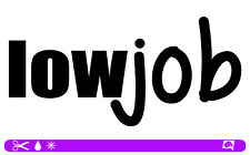 LOWJOB low job Sticker bombed bomb OEM JDM style DUB static Aufkleber