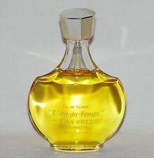 L' AIR DU TEMPS Original NINA RICCI Perfume TOILETTE 2 oz LALIQUE Bottle VINTAGE