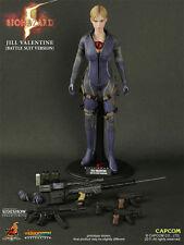 "Jill Valentine Battle Suit versione RESIDENT EVIL BIOHAZARD 12"" personaggio Hot Toys"