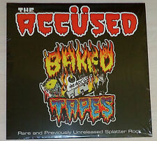 THE ACCUSED - Baked Tapes LP - SEALED new copy - SPLATTER VINYL - PUNK