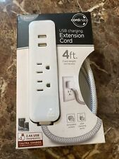 Cordinate USB Charging Extension Cord 4 ft with flat plug. Open Box✨