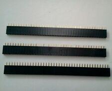 3 Barrettes de connexion 40 pin Femelle Pas 2.54 mm ARDUINO PI EB01