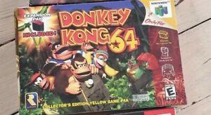 Donkey Kong 64 Nintendo 64 No Game Authentic box