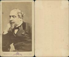 Napoléon III, Empereur des Français CDV vintage albumen, Tirage albuminé  6,