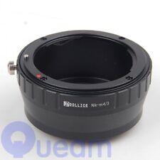 Dollice Nikon Nikkor Len to Micro Four Thirds m4/3 M43 Adapter Olympus Panasonic