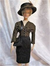 Viva Los Vegas a Doll Hat, Purse and Dress for FM Princess Diana doll body