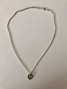 Thomas Sabo Genuine 925 Charm Carrier and Necklace