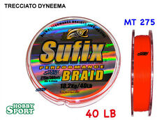 FILO TRECCIATO SUFIX PERFORMANCE LB 040 MT 275 mm 0,30
