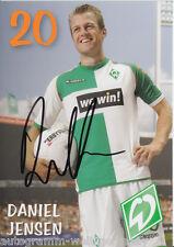 Daniel Jensen Werder Bremen 2006-07 2.Karte TOP +A20556