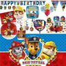 Paw Patrol Party Tableware, Decorations and Balloons
