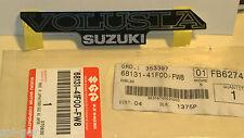 VL800 Nuevo Original Suzuki lado calcomanía emblema de Panel Marco Cubierta 68131-41F00-FW8