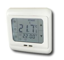 24V Low-Voltage Thermostat Touchscreen Room Thermostat #844