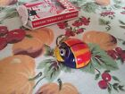 Vintage Lady Bug Tin Toy, Friction doesn't work, Rolls, Made in Japan, K