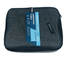 BAGSMART Travel Electronic Accessories Cable Organizer Bag Case iPad Pro 10.5