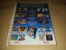 Iron Maiden - The First Ten Years - Box Set Advert - 80's,90's,00's Retro Art