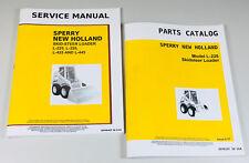 New Holland L225 Skid Steer Service Parts Manuals Set Shop Repair Catalog Book